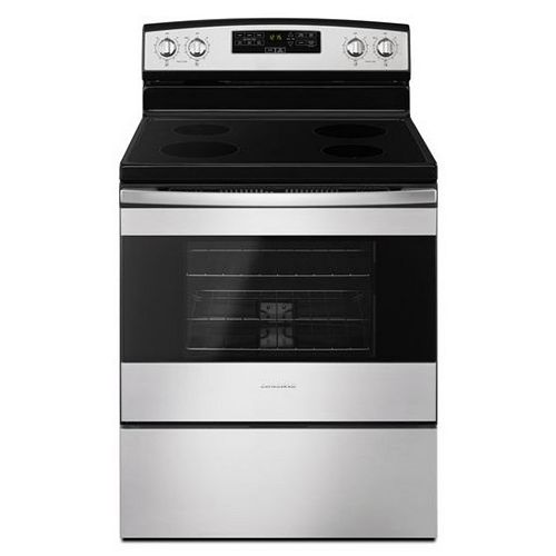 4.8 cu.ft Electric Range in Stainless Steel