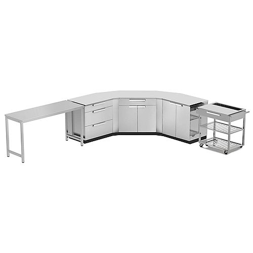 Outdoor Kitchen 10-Piece (with cover) Stainless Steel Classic