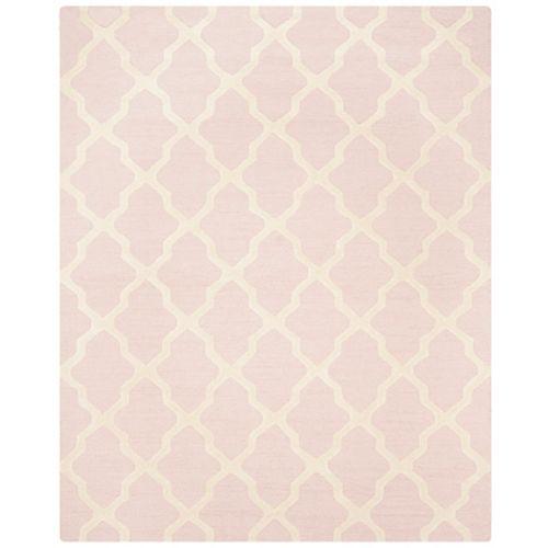 Safavieh Cambridge Giselle Light Pink / Ivory 8 ft. x 10 ft. Indoor Area Rug