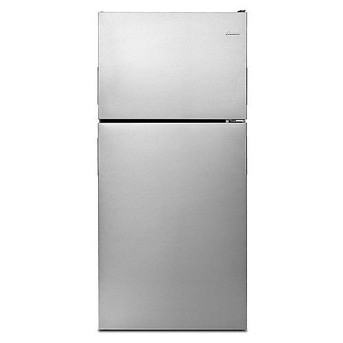 30-Inch W 21 cu.ft. Top Freezer Refrigerator in Stainless Steel