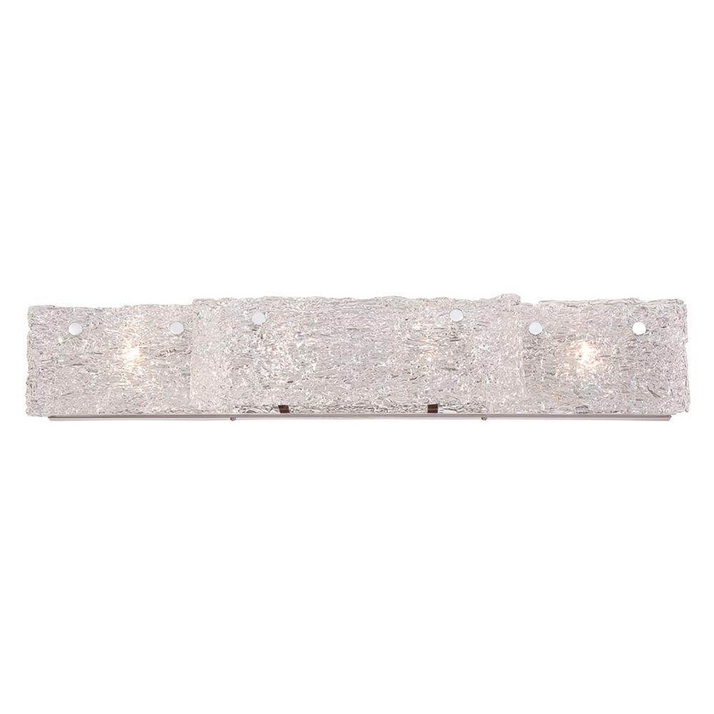 Eurofase Caramico Collection, 4-Light Chrome Bath Bar