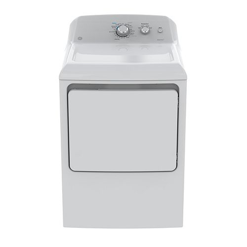 7.2 cu. ft. Front Load Gas Dryer in White
