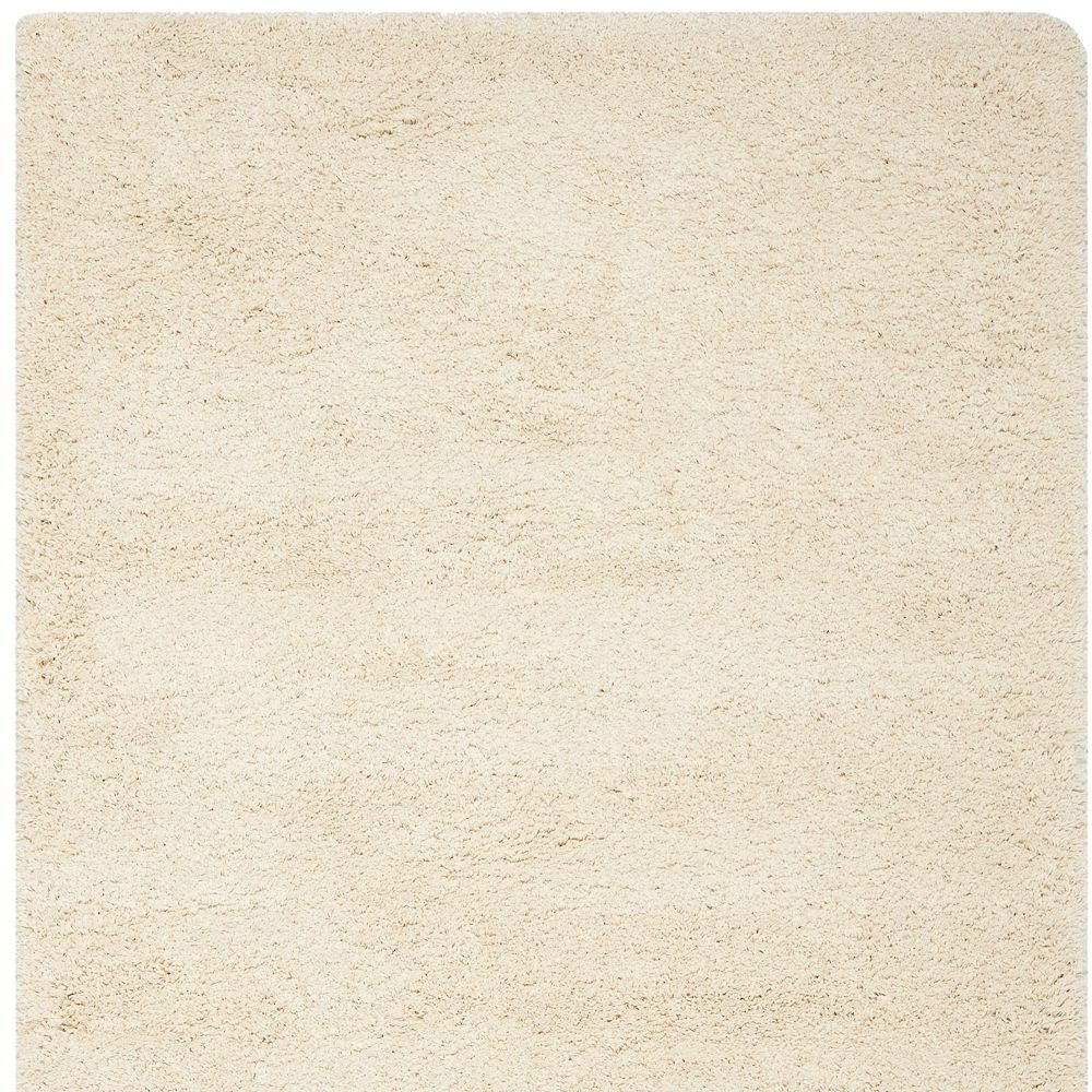 Safavieh Shag Felicia Ivory 6 ft. 7 inch x 6 ft. 7 inch Indoor Square Area Rug