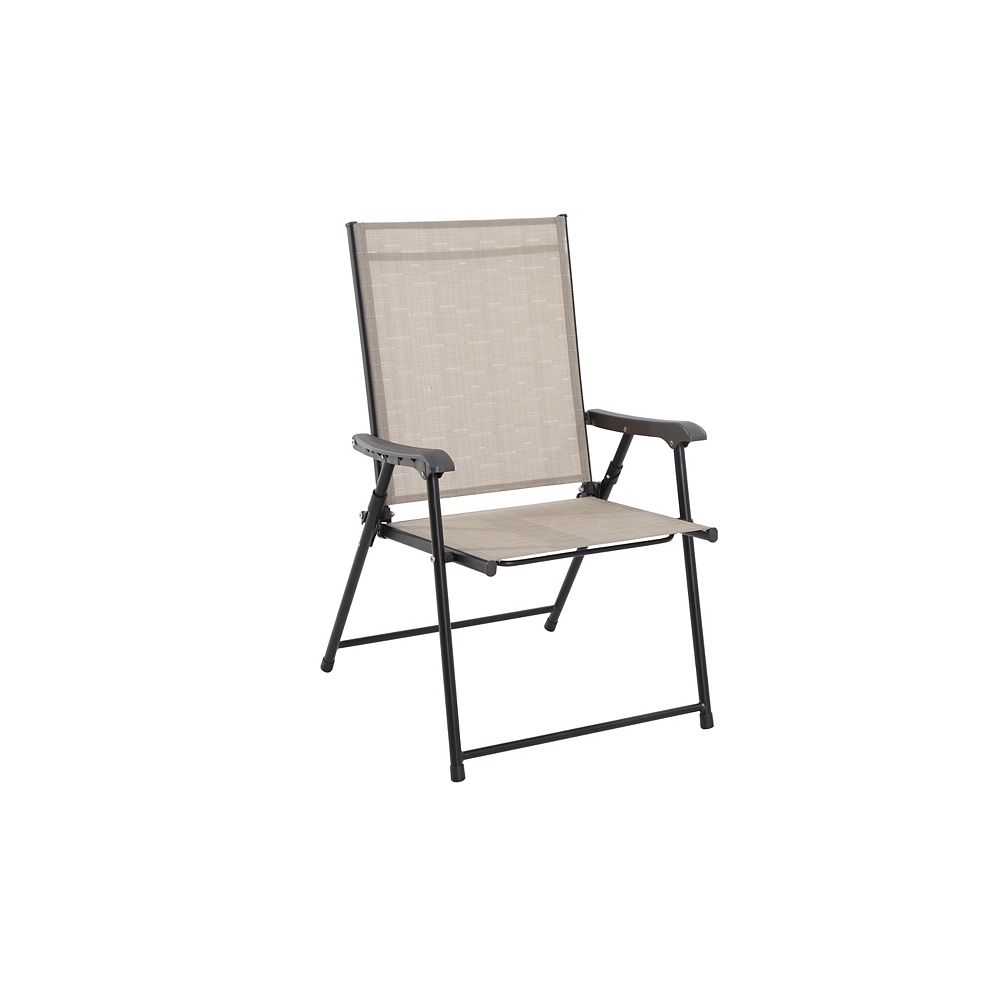 Hampton Bay Steel Patio Sling Folding Chair