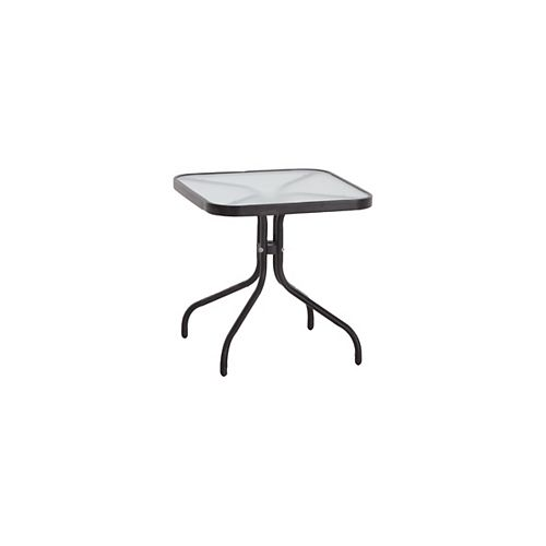 18-inch x 18-inch Patio Side Table