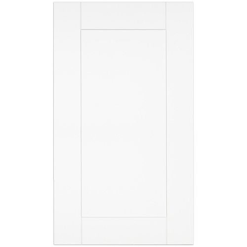 Oxford - Door 18 inch x 30 inch - White matt thermofoil