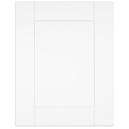 "Oxford - Porte - 18""x23"" - Thermoplastique blanc mat"