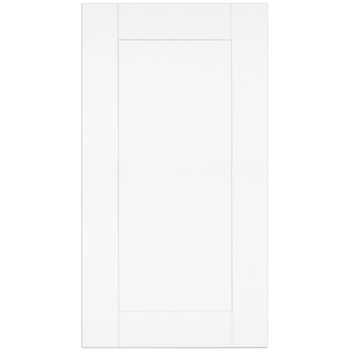 "Oxford - Porte - 17""x30"" - Thermoplastique blanc mat"