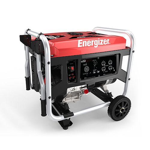 EZG6250: 6250W Gas Powered Portable Generator