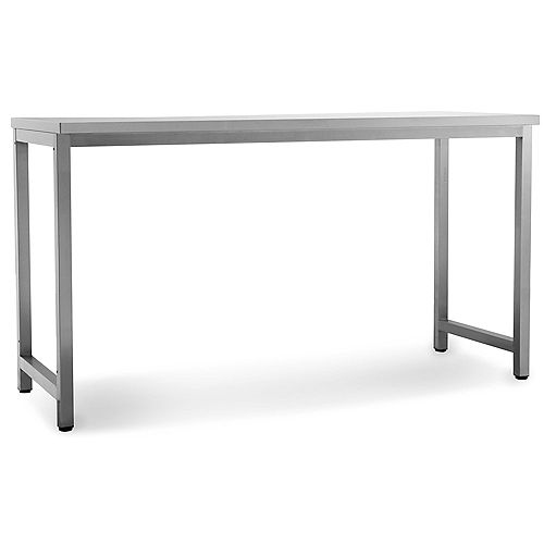 Classic Stainless Steel Outdoor Kitchen Prep Table