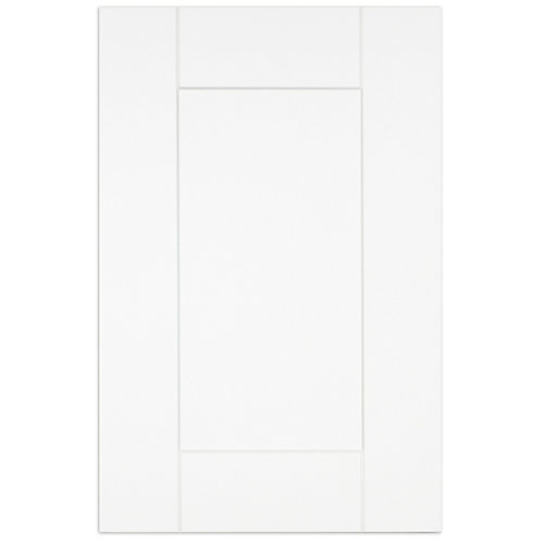 "Oxford - Porte - 15""x23"" - Thermoplastique blanc mat"