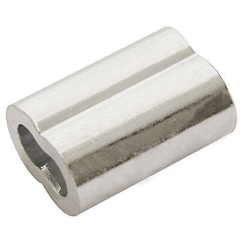 1/16 inch Aluminum Sleeves Ferrules - 65-Piece Contractor Pack