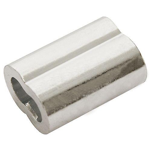 1/16 po Manchon aluminium - 10 pièces