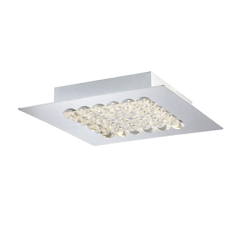 Eurofase Denso Collection, 1-Light Medium LED Chrome Surface Mount