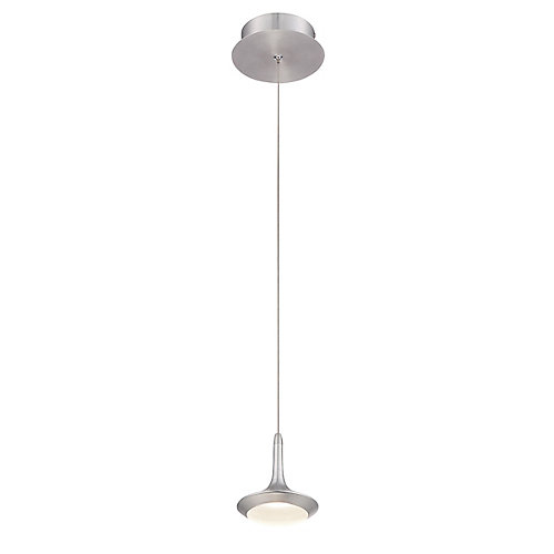 Collection Knoll, luminaire suspendu en aluminium à 1 ampoule DEL