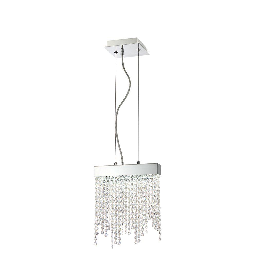 Eurofase Rossi Collection, 1-Light LED Chrome Pendant