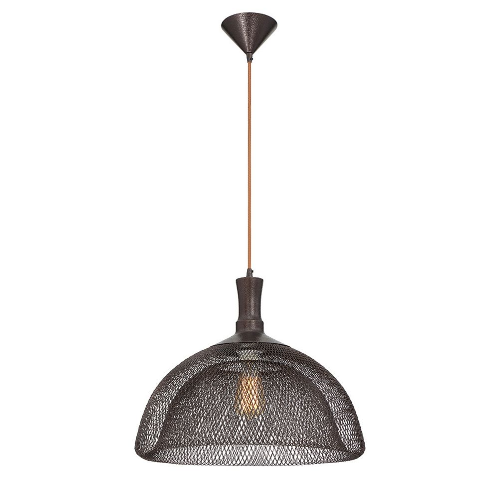 Eurofase Filo Collection, 1-Light Large Bronze Pendant