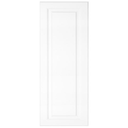 "Florence - Porte 12""x30"" - Thermoplastique blanc mat"