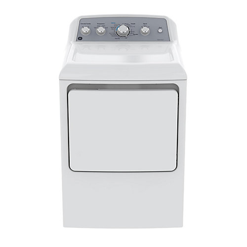 7.2 IEC cu. ft. Top Load Matching Gas Dryer in White