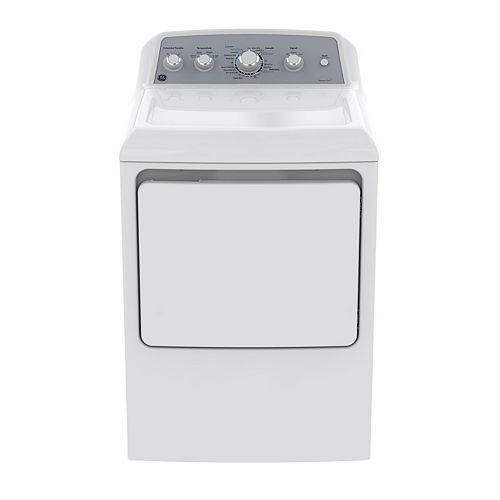 7.2 IEC cu. ft. Front Load Matching Gas Dryer in White