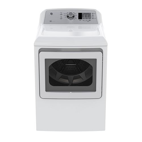 7.4 CF TL Matching Gas Dryer with Sensor Dry in White