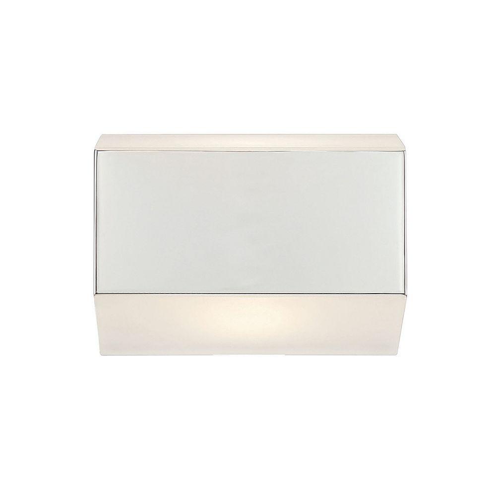 Eurofase Collection Media, applique murale chrome à 1 ampoule DEL