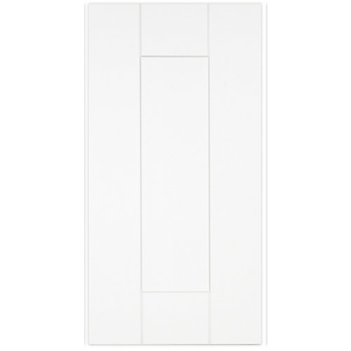 "Oxford - Porte - 12""x23"" - Thermoplastique blanc mat"