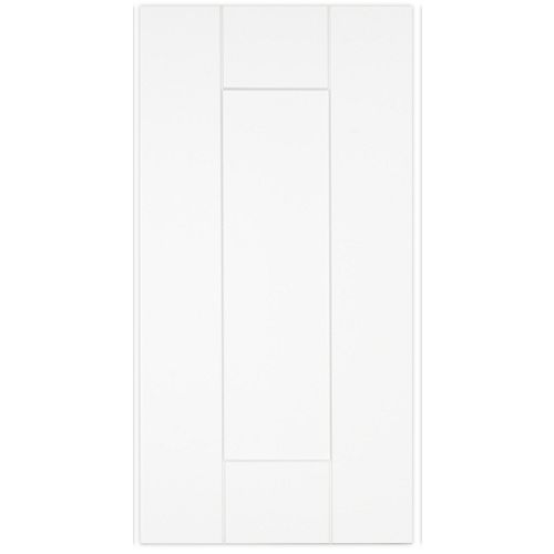 Oxford - Door 12 inch x 23 inch - White matt thermofoil
