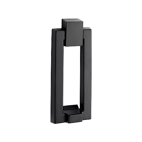 Modern Matte Black Door Knocker