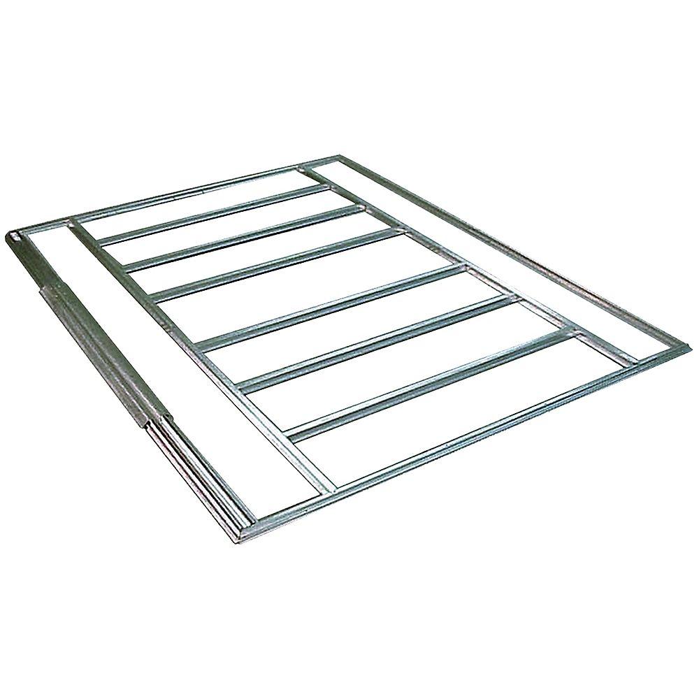 Arrow Admiral & Viking Sheds Floor Frame Kit 10 x 7 Feet (swing doors)