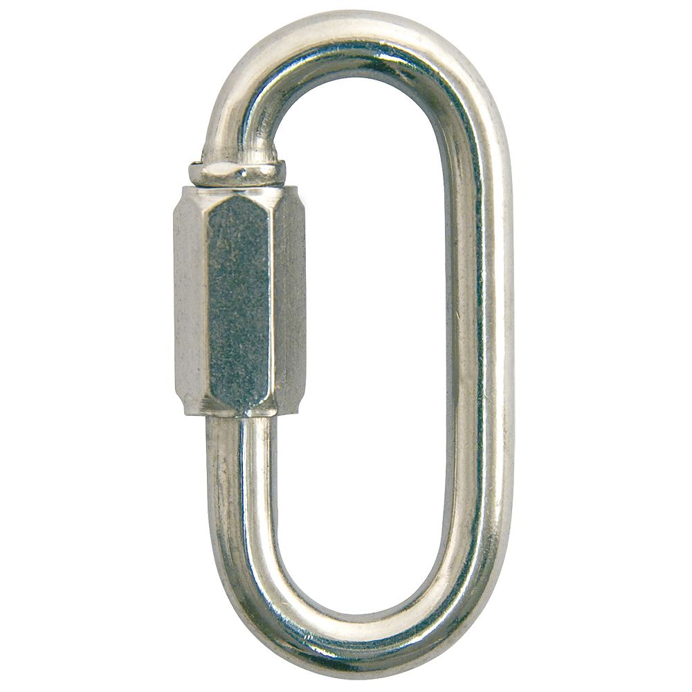 Everbilt 1/4 inch Zinc-Plated Quick Link - 10-Piece Contractor Pack