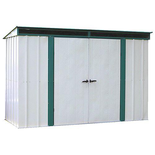 Euro-Lite™, 3x1,2, acier galvanisé à chaud, couleur pré vert / coquille d'œuf, toit incliné
