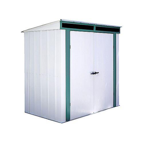 Euro-Lite™, 1,8x1,2, acier galvanisé à chaud, couleur pré vert / coquille d'œuf, toit incliné