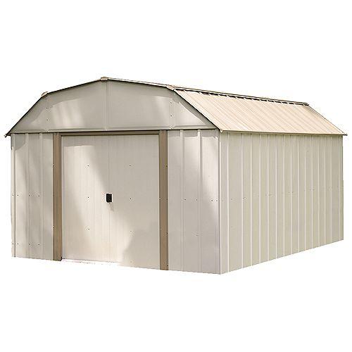 Lexington 10 ft. x 14 ft. Steel Storage Shed