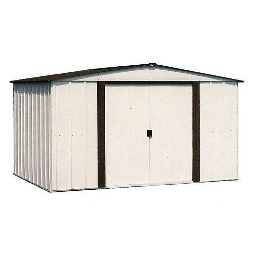Newburgh 10 ft. x 8 ft. Steel Storage Shed