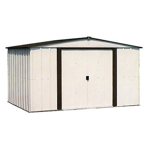 Newburgh 8 ft. x 6 ft. Steel Storage Shed