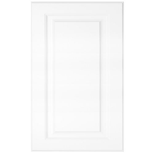 Florence - Door 24 inch x 15 inch - White matt thermofoil