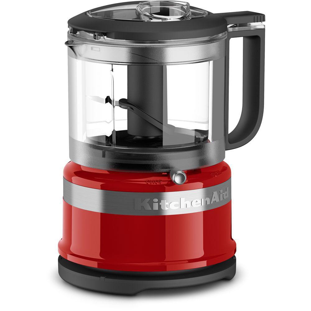 Kitchenaid 3 5 Cup Mini Food Processor In Empire Red The Home Depot Canada