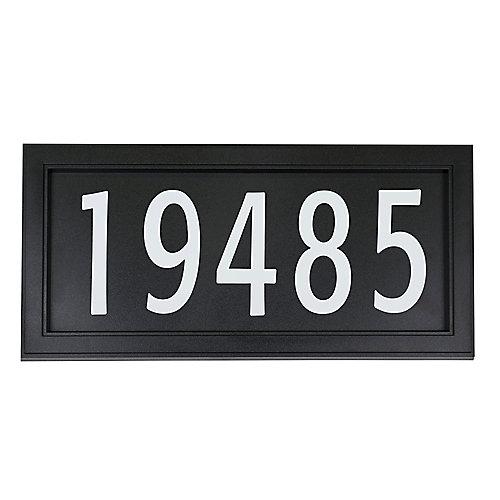 Plaque d'adresse moderne facile à installer
