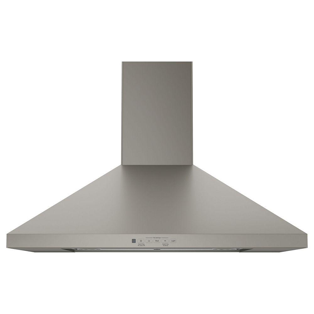 GE 30-inch W Convertible Range Hood in Slate
