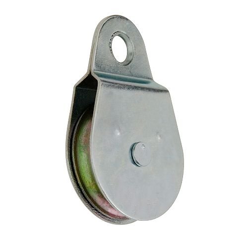 2-1/2 inch  Heavy-Duty Single-Sheave, Fixed-Eye Pulley