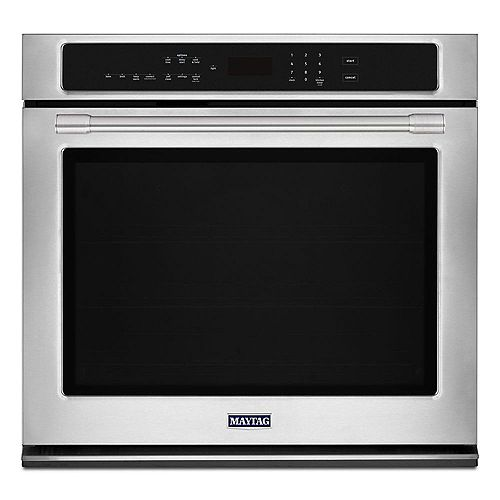 30-inch 5.0 cu. ft. Single Electric Wall Oven with Convection in Fingerprint Resistant Stainless Steel