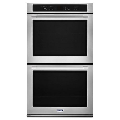 27-inch 8.6 cu. ft. Double Electric Wall Oven with Convection in Fingerprint Resistant Stainless Steel