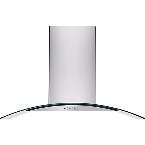 36-inch Wall Mounted Range Hood in Stainless Steel