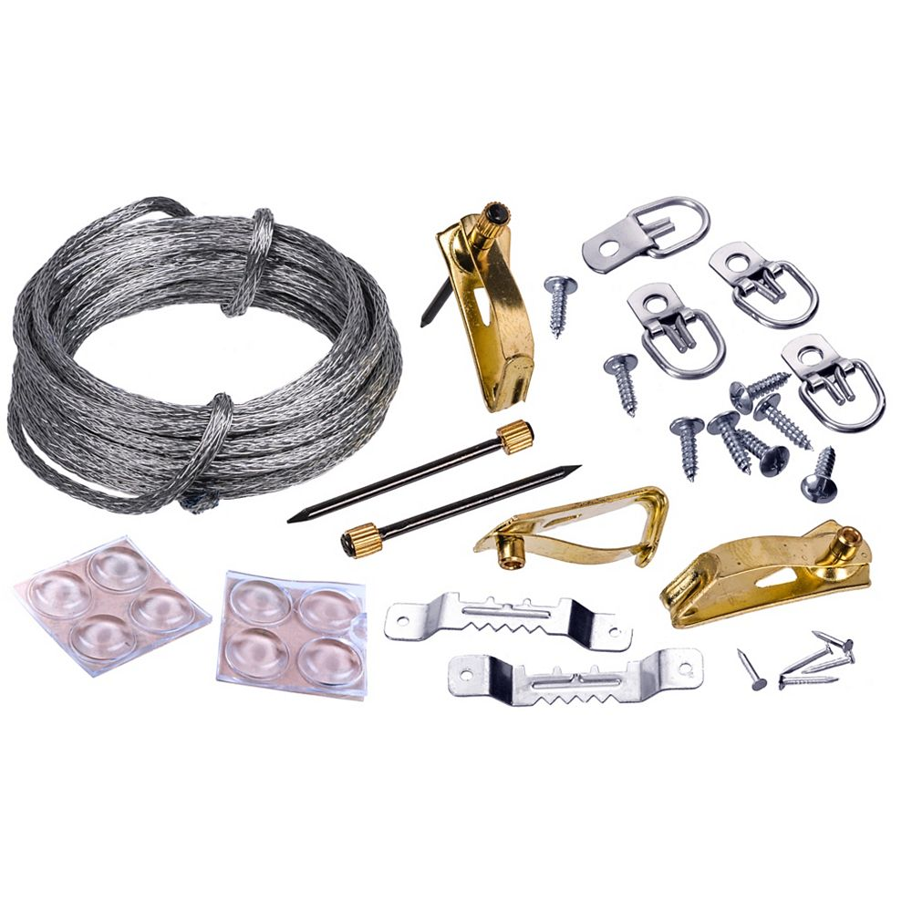 OOK 20-75-Lb  Picture Hanging Kit - 25pcs