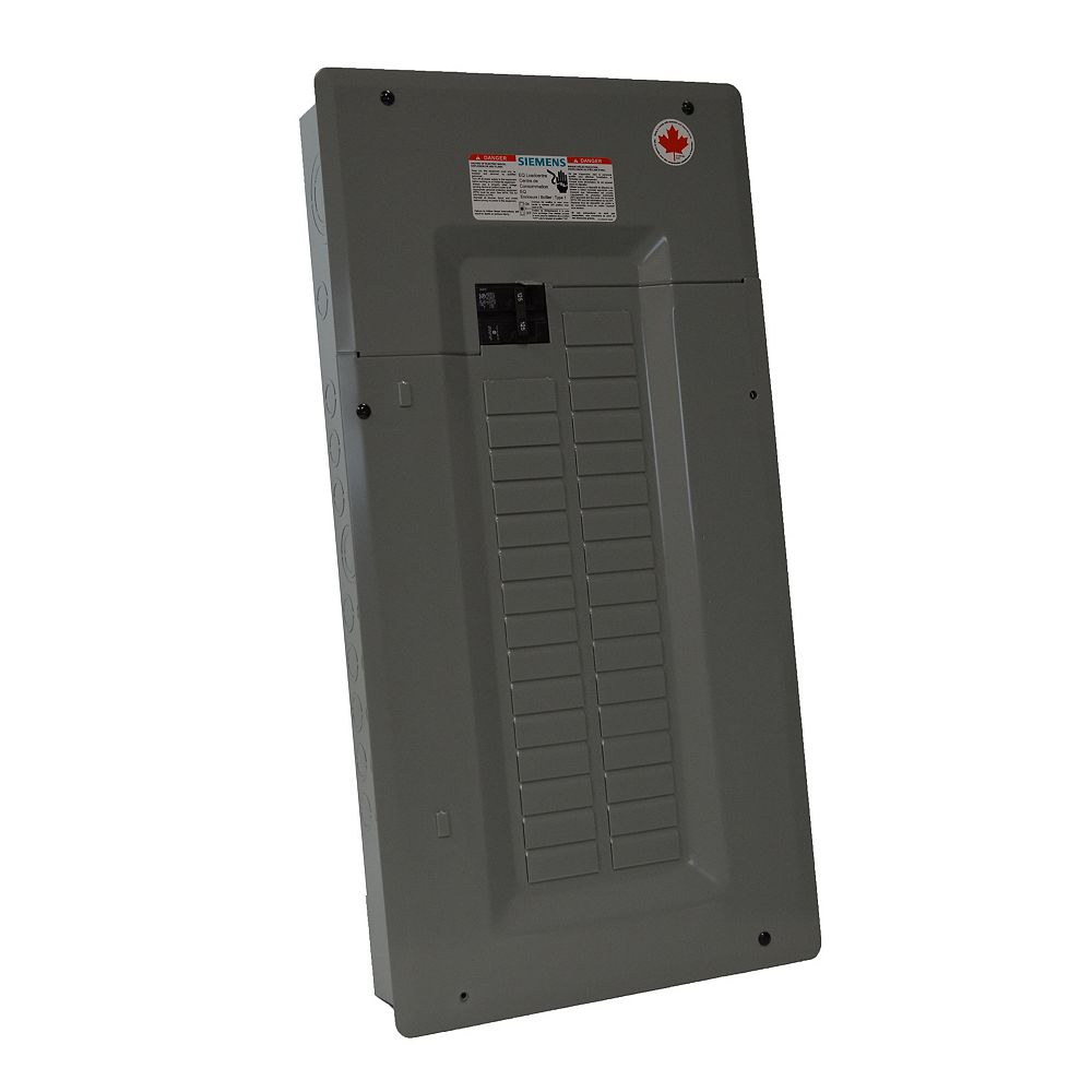Siemens Service Entrance Loadcentre 100A 32 Circuits Expandable to 48