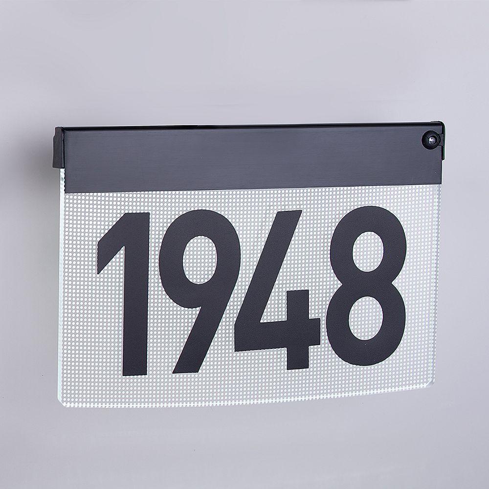 Taymor LED Illuminated Contemporary Address Plaque