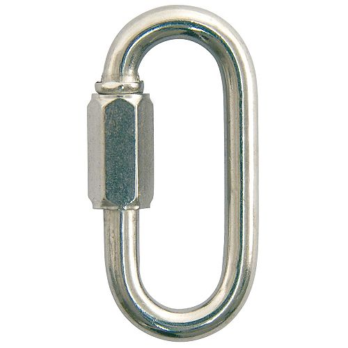5/16 inch Zinc-Plated Quick Link - 4-Piece Contractor Pack