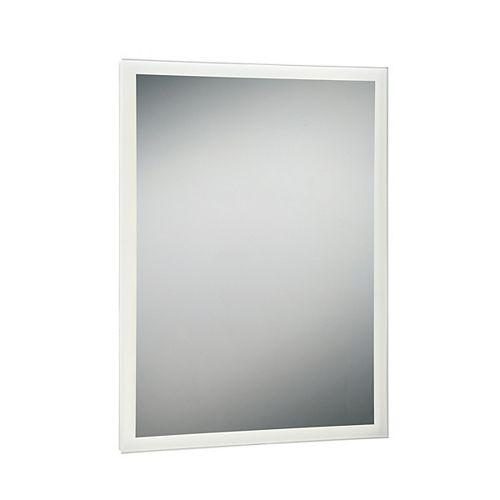 Miroir rectangulaire à bord illuminé à DEL
