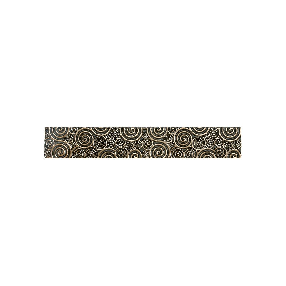 Enigma 305306 3x6 Wolfe Creek Bone Vine Bordure